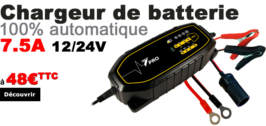 Moderne Chargeurs batteries Auto7 OX-18